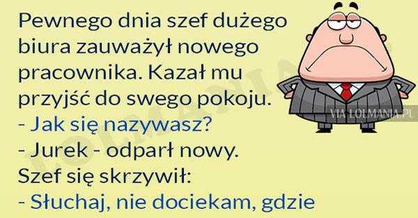 Szef z zasadami :)
