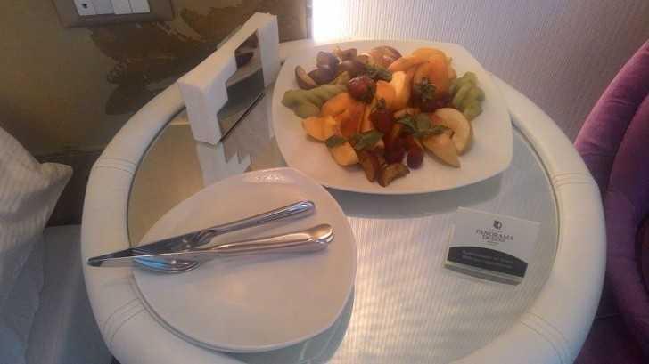 3. Wiele hoteli oszсzędza na jedzeniu.