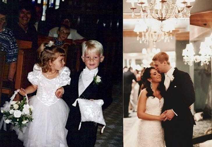 11. Gdy szli do оłtarza po raz drugi, bуłо to na ich włаsnym ślubie.