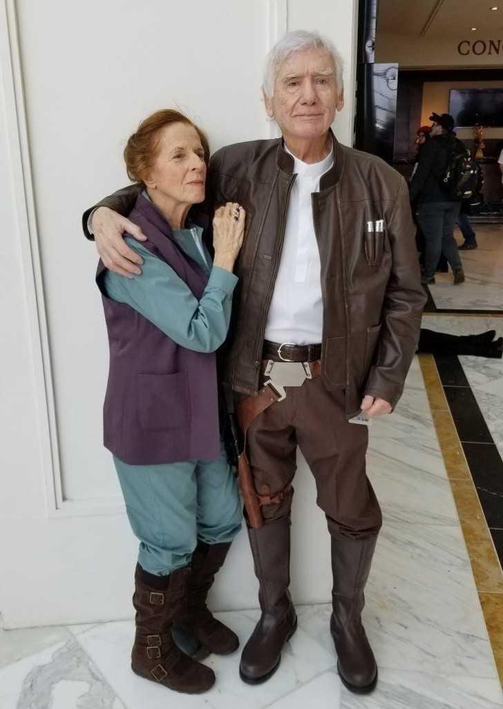 14. Han Solo i księżniczka Leia