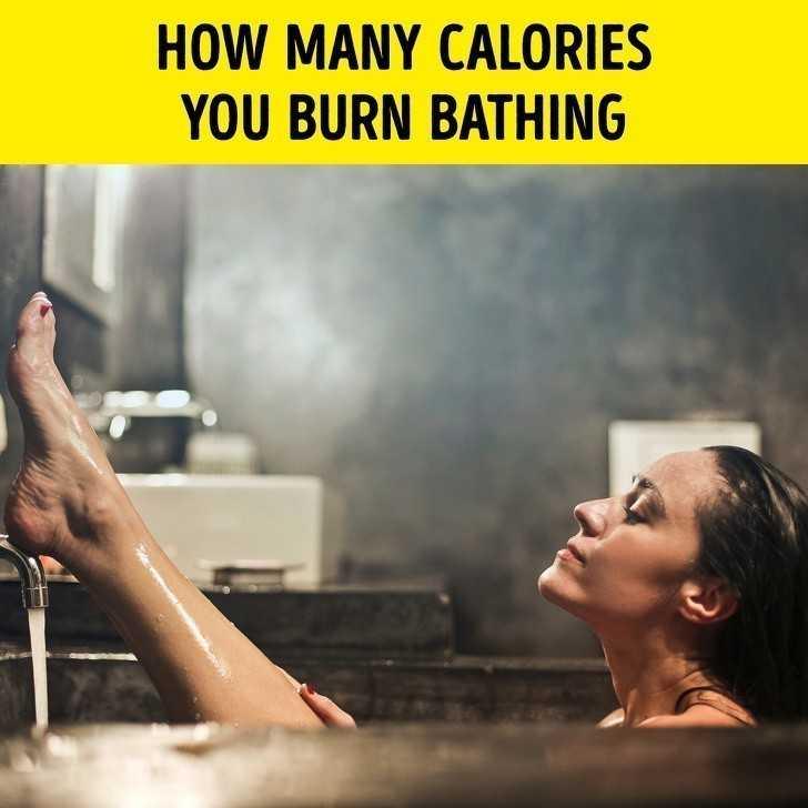 17. Ile kalorii spalisz poprzez kąрiel