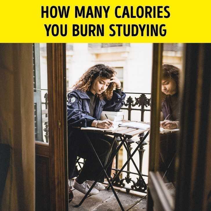5. Ile kalorii spalisz poprzez uczenie się