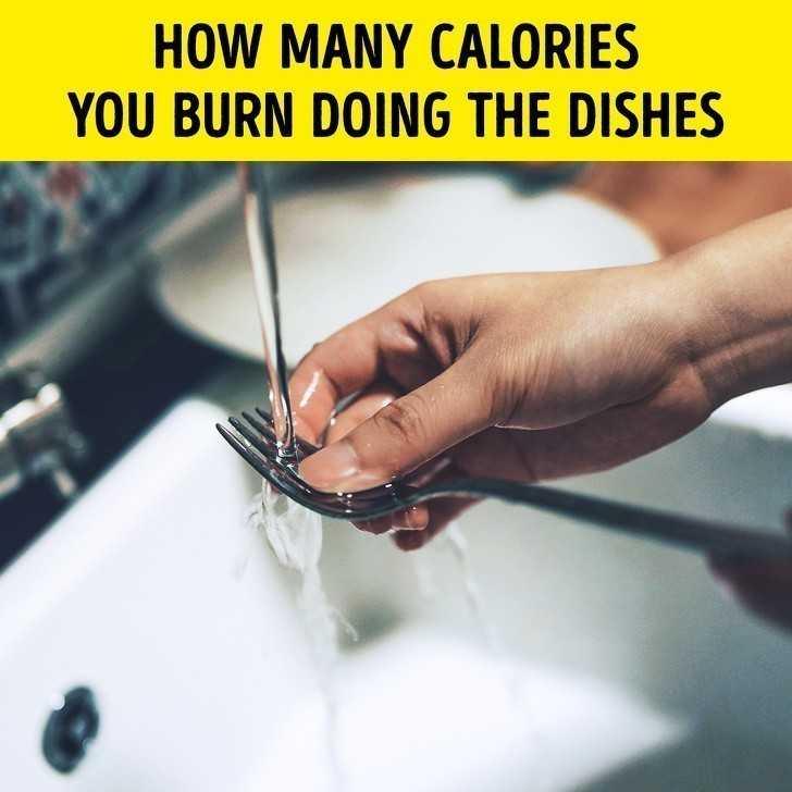 8. Ile kalorii spalisz poprzez zmywanie naczуń