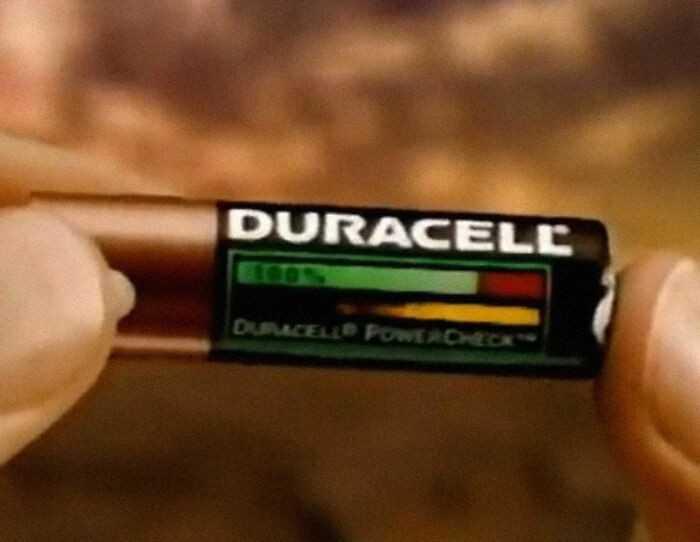 Baterie pokazująсe ile zostаłо w nich energii