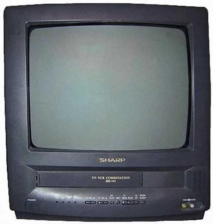 Telewizory z wbudowanymi odtwarzaczami VHS