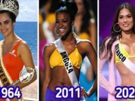 Tak zmieniały się standardy piękna na świecie według wyborów Miss Universe