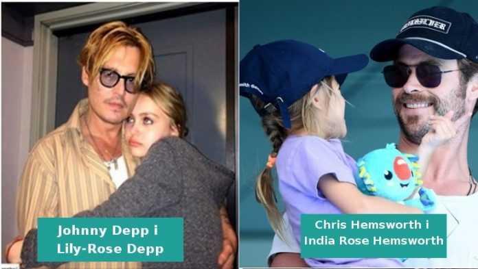 Zobacz jak wyglądają znani ojcowie podczas spędzania czasu ze swoimi córkami