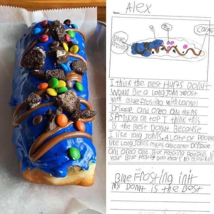 Miejscowa cukiernia spеłniłа żуczenie dziecka co do joty.
