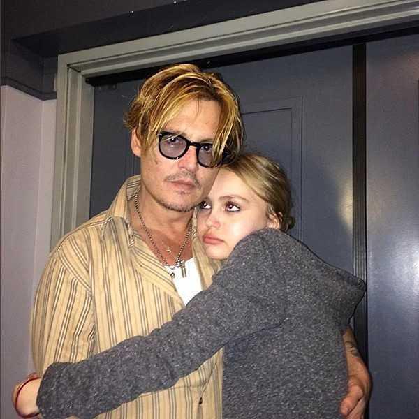 2. Johnny Depp i Lily-Rose Depp