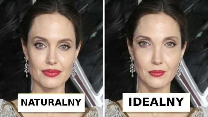 Tak wyglądałoby ikony piękna, gdyby ich twarze spełniały warunek złotego podziału