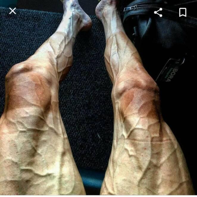 nogi kolarza